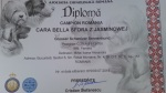diploma campion Romania Bella