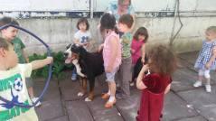 Bella and kids