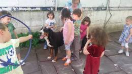 Bella and kids
